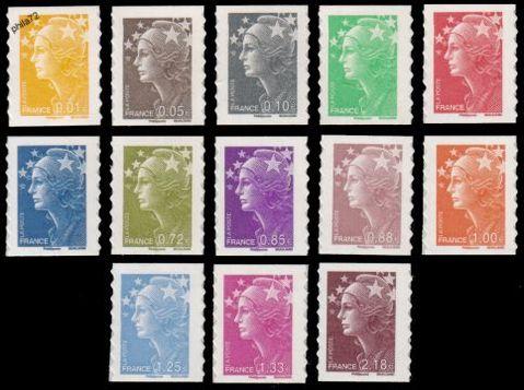 timbres postaux français